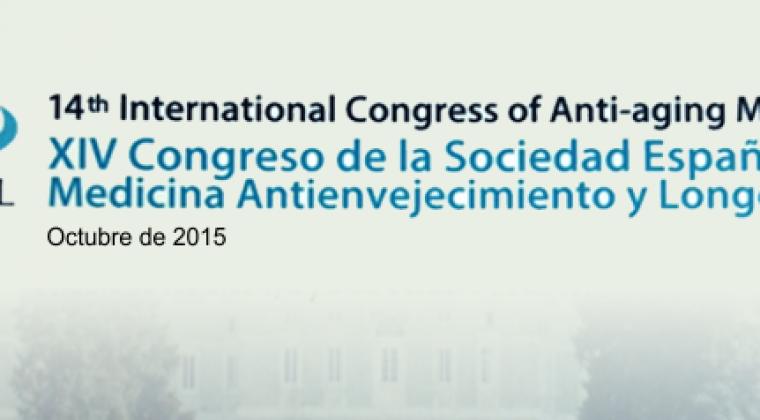 Participación en el  XIV Congreso Internacional de Medicina Antienvejecimiento y Longevidad
