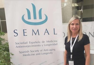 Participación de la Doctora en el congreso SEMAL 2019
